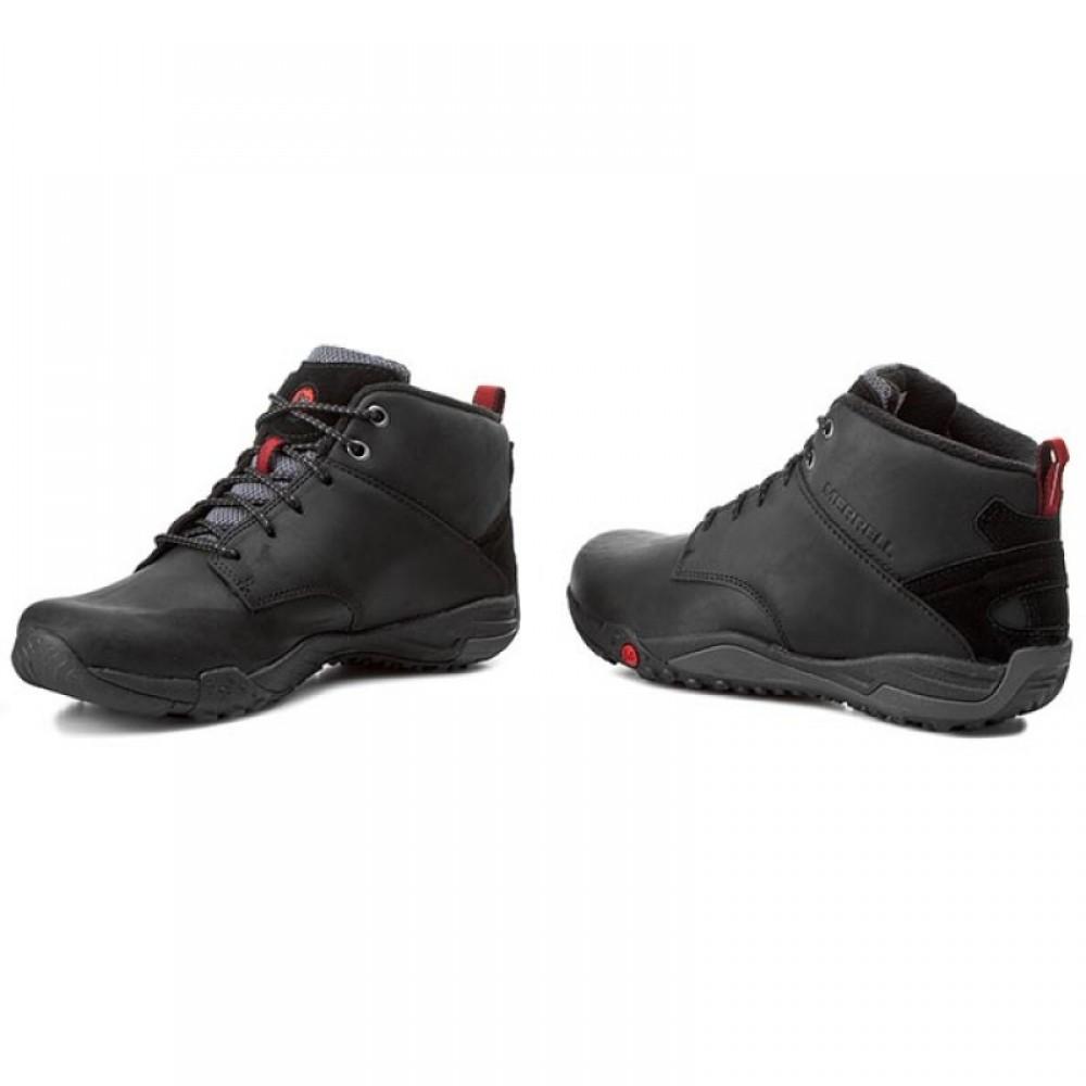 629825d2381 ... Ανδρικά Δετά Casual Μποτάκια MERRELL J53729 HELIXER MORPH FROST Oily  Leather Black Ανδρικά Παπούτσια ...