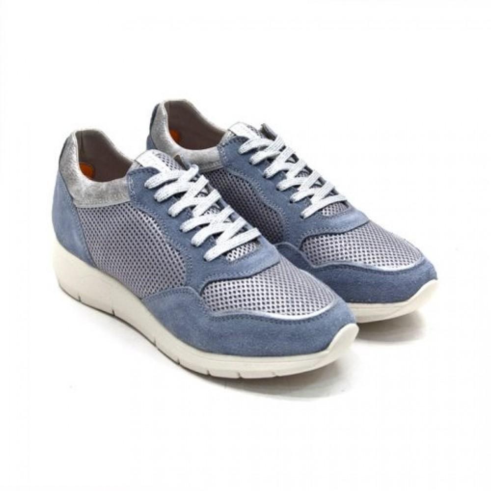 b3f66b87064 -57% Γυναικεία Δετά Casual Sneakers Impronte IL 181580 Leather Castori  Jeans Γυναικεία Παπούτσια