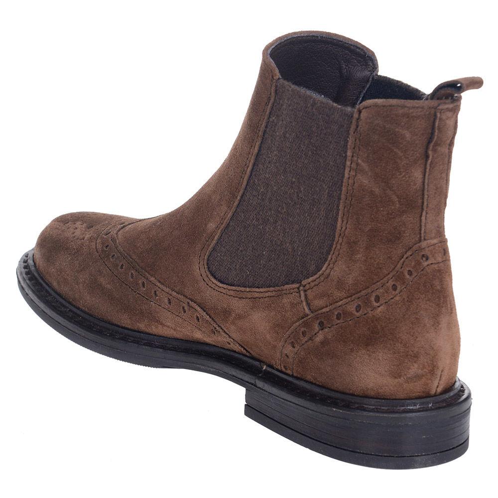 f64c01e12d5 Γυναικεία Oxford Μποτάκια Alpe 3822 11 19 Leather Castori Castana
