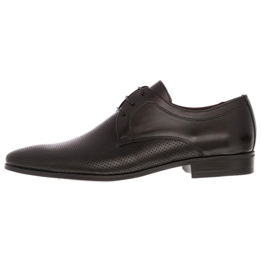 43c54b1bc60 -16% Damiani 232 Leather Black Ανδρικά Παπούτσια
