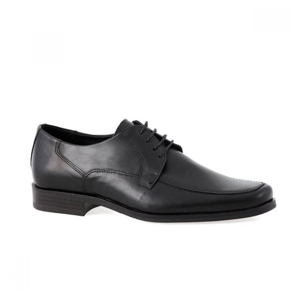 -24% Ανδρικά Δετά Σκαρπίνια Damiani 180 Leather Black Νέες Παραλαβές 5f4c07648b0