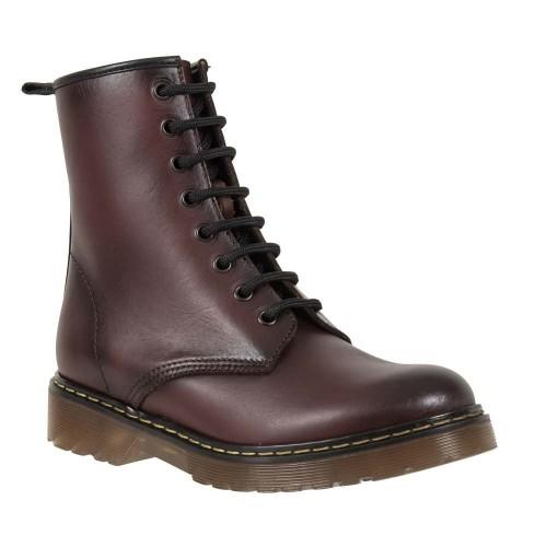Γυναικεία Δετά Μποτάκια Ragazza 0200 Leather Bordo