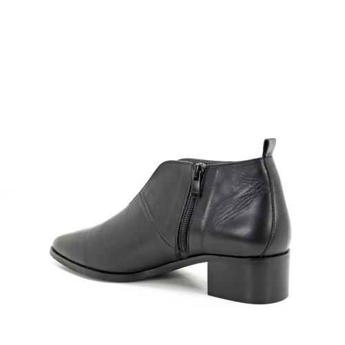Γυναικεία Μποτάκια Ragazza 0139 Leather Black