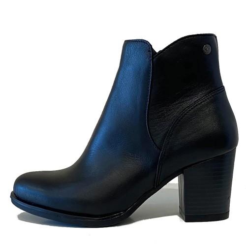 Γυναικεία Μποτάκια Ragazza 0862 Leather Black
