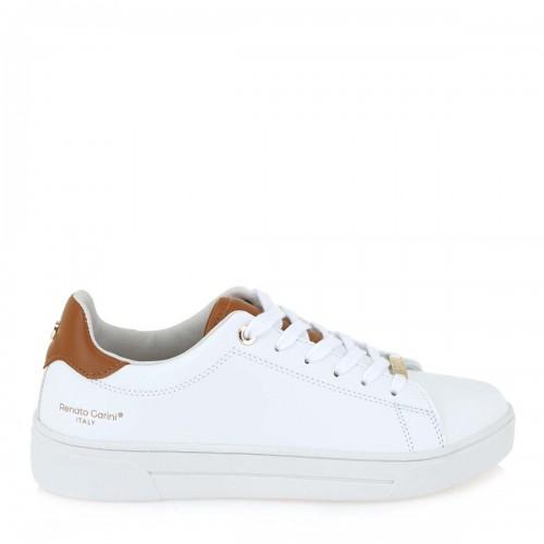 Γυναικεία Sneakers Renato Garini Eco Leather 20VW2003 White Brown