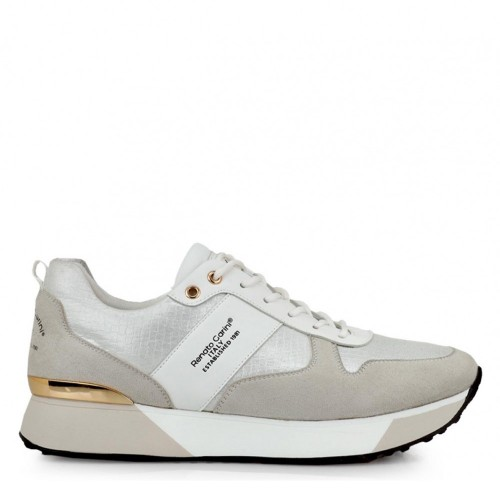 Γυναικεία Sneakers Renato Garini RG 2262 Eco Leather White Knit