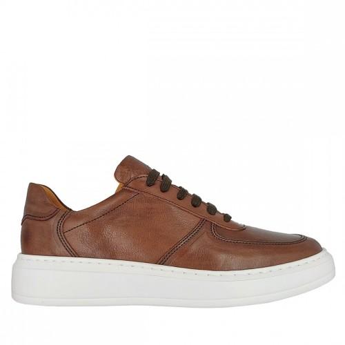 Ανδρικά Δετά Sneakers Anteos Shoes 1869 Leather Tampa