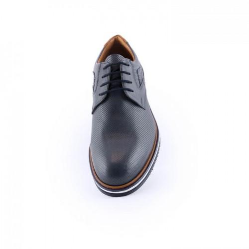 Ανδρικά Casual Δετά Παπούτσια Antonio 30 Leather Blue Νέες Παραλαβές