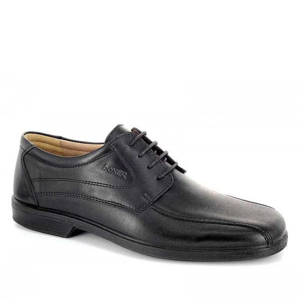 Ανδρικά Δετά Casual BOXER 10055 Leather Black