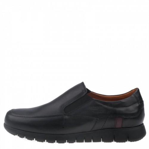 Ανδρικά Casual Μοκασίνια Boxer 21162 Leather Black