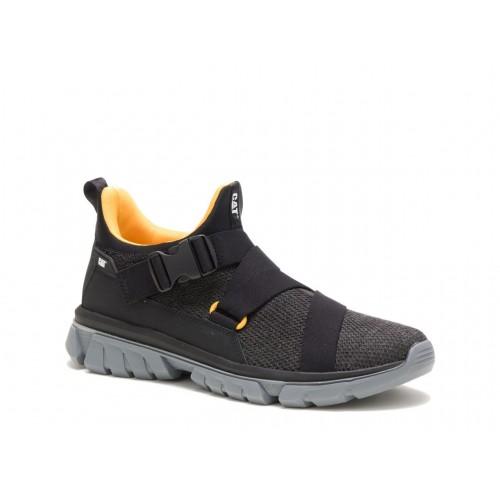 Ανδρικά Casual Sneakers Cat P723718 Falcata Woven Black Νέες Παραλαβές