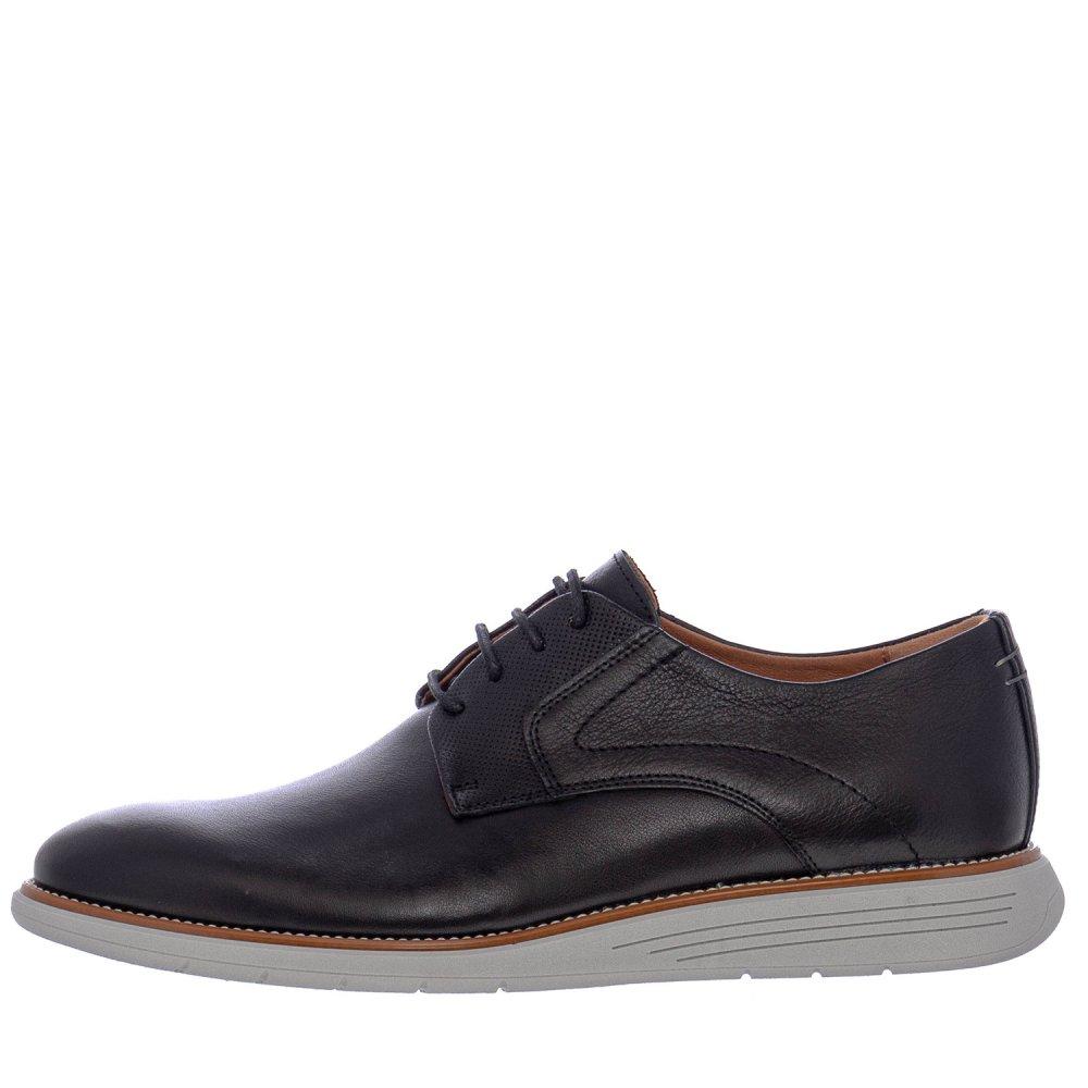 Ανδρικά Δετά Casual Παπούτσια Damiani 2202 Leather Black
