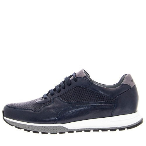 Ανδρικά Casual Sneakers Damiani 2500 Leather Blue