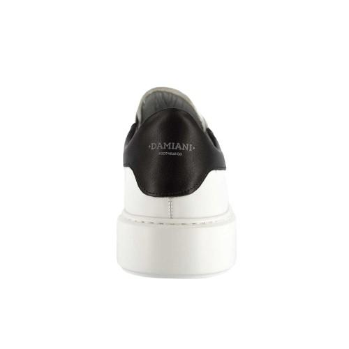 Ανδρικά Δετά Casual Sneakers Damiani 1900 Leather White