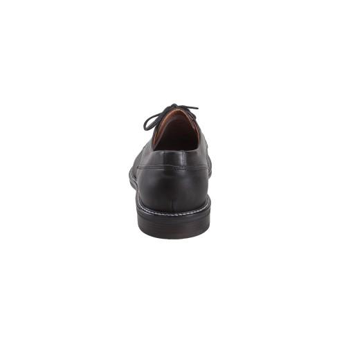 Ανδρικά Δετά Casual Παπούτσια Damiani 1353 Leather Black Νέες Παραλαβές