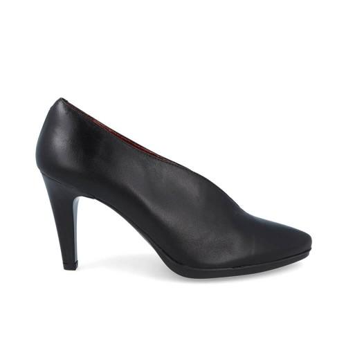 Γυναικείες Γόβες Desiree 92053 Leather Black