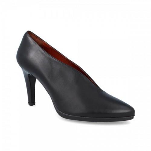Γυναικείες Γόβες Desiree 92053 Leather Black Νέες Παραλαβές