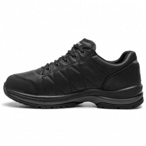 Ανδρικά Δετά Casual Sneakers Grisport 13911T32G Touch Leather Black Νέες Παραλαβές