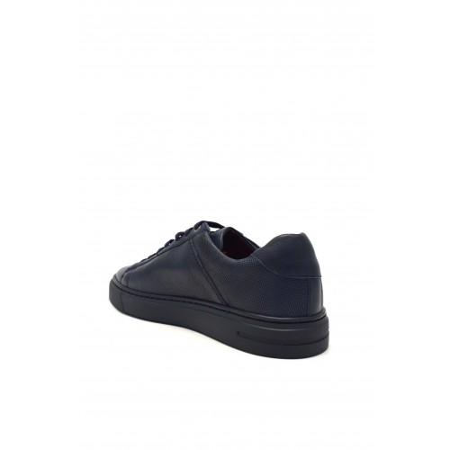 Ανδρικά Δετά Casual Sneakers Kricket 908 Leather Blue  Νέες Παραλαβές