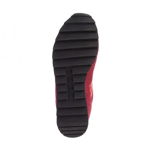 Ανδρικά Δετά Casual Sneakers Merrell J16703 Alpine Leather Castori Nylon Upper Bossanova Rouge Νέες Παραλαβές