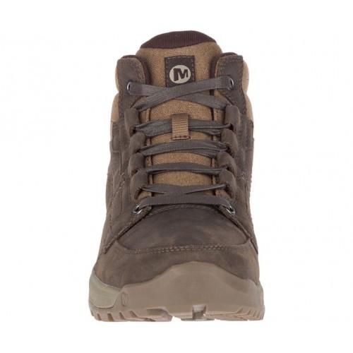 Ανδρικά Δετά Casual Μποτάκια Merrell J62509 Anvik Pace Mid WP Leather Seal Brown Νέες Παραλαβές