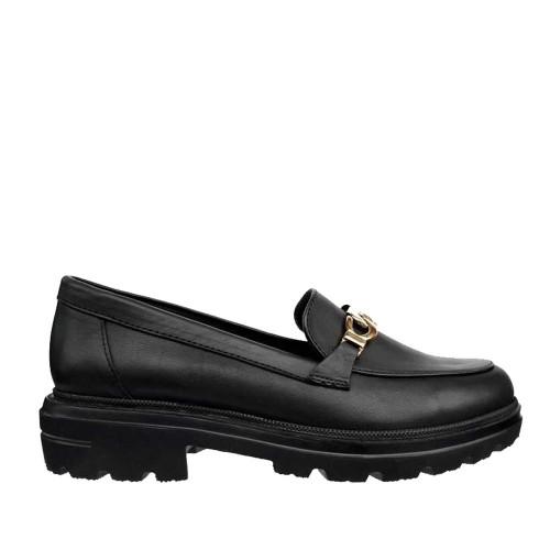 Γυναικεία Μοκασίνια Ragazza 0158 Leather Black
