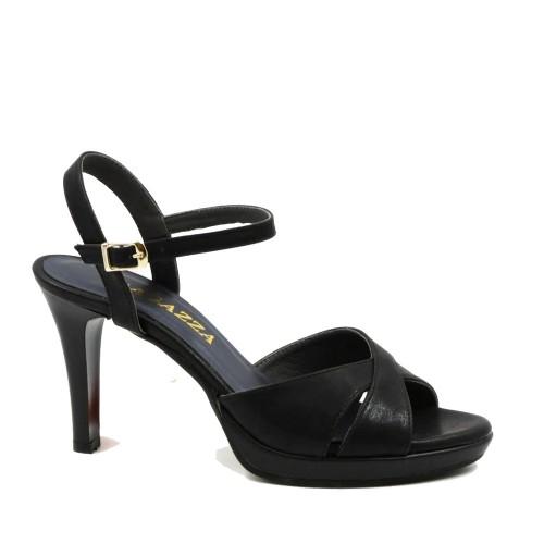 Γυναικεία Αμπιγιέ Πέδιλα Ψηλά Ragazza 0931 Eco Leather Black