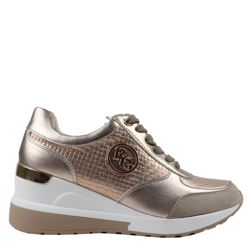 Γυναικεία Sneakers Renato Garini 929 19R K 20 EX9929 Eco Leather Eco Suede Light Gold Νέες Παραλαβές