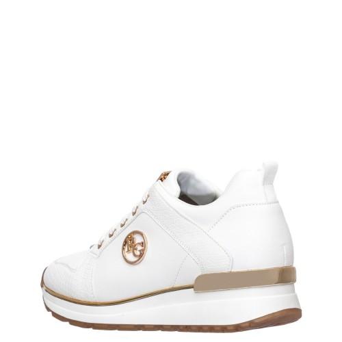 Γυναικεία Sneakers Renato Garini 710 19R K 20 Eco Leather White Snake Νέες Παραλαβές