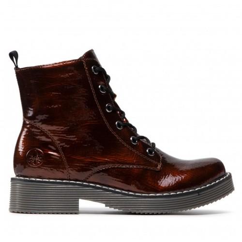 Γυναικεία Μποτάκια Rieker 70010-25 Eco Leather Perlato Brown