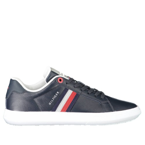 Ανδρικά Δετά Sneakers Tommy Hilfiger FM0FM03424 DW5 Leather Blue