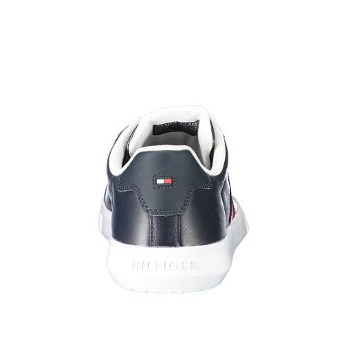 Ανδρικά Δετά Sneakers Tommy Hilfiger FM0FM03424 DW5 Leather Blue
