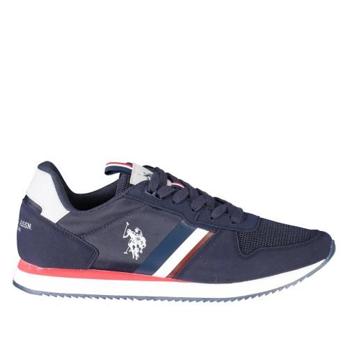 Ανδρικά Sneakers U.S. Polo Assn. Nobil115 Nylon Eco Suede Dark Blue