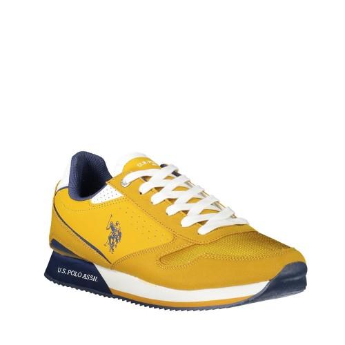 Ανδρικά Sneakers U.S. Polo Assn. Nobil183 Eco Suede Eco Leather Ocra
