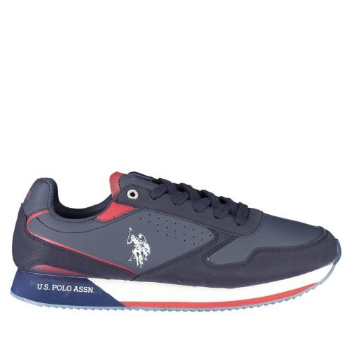 Ανδρικά Sneakers U.S. Polo Assn NOBIL003M/AYH1 Eco Leather Eco Suede Blue