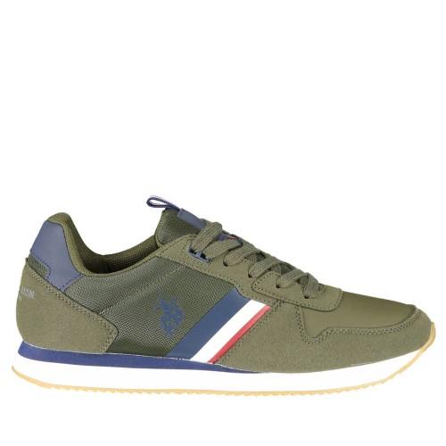 Ανδρικά Δετά Sneakers U.S. Polo Assn. NOBIL001M/AHN1 Eco Suede Nylon Green