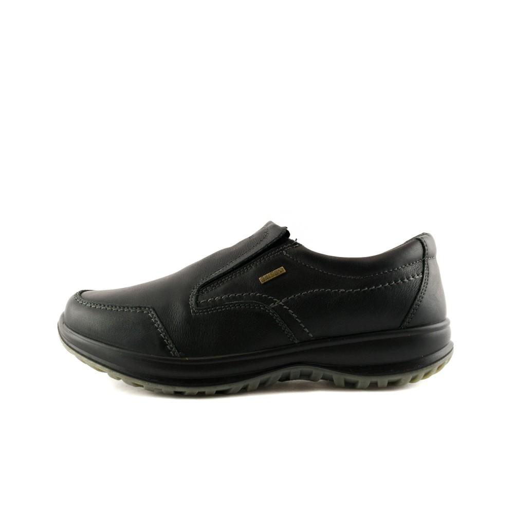 504dcd3b0ae -27% Ανδρικά Casual Μοκασίνια Grisport 8615NV.6G Leather Black Ανδρικά  Παπούτσια