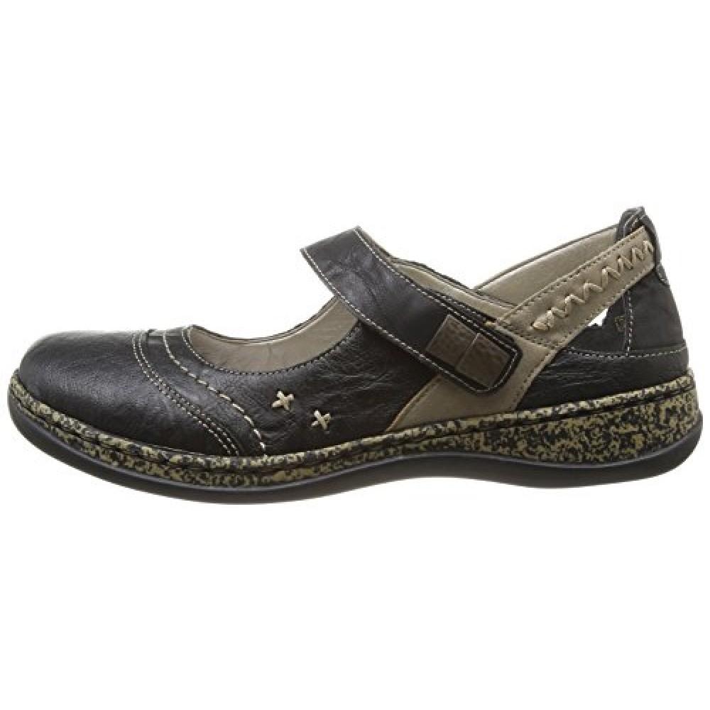 19e96e61104 Γυναικεία Slip-On Παπούτσια Rieker 46378 Leather Black