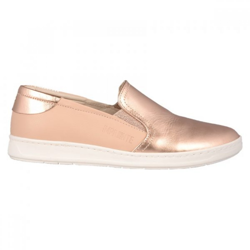 72e077dbf05 Γυναικεία Loafers Impronte IL 181573 Leather Nude Pink Gold