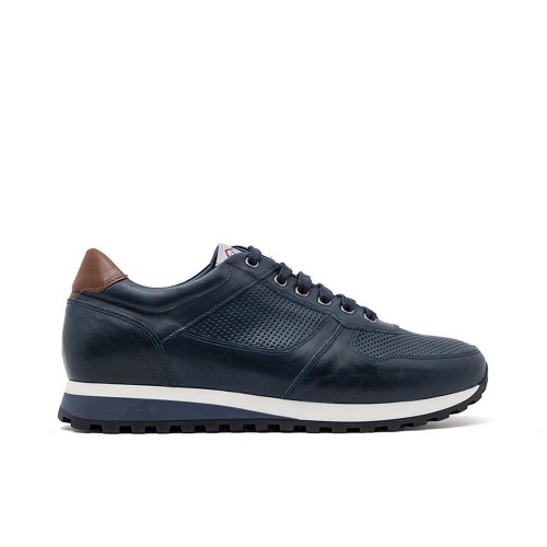 Ανδρικά Δετά Sneakers Damiani 480 Leather Blue