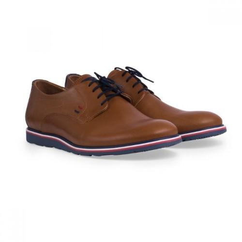 Damiani 606 Leather Tampa Ανδρικά Παπούτσια