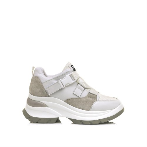 Γυναικεία Sneakers Sixtyseven 30264 Leather Actled White Cib White Νέες Παραλαβές