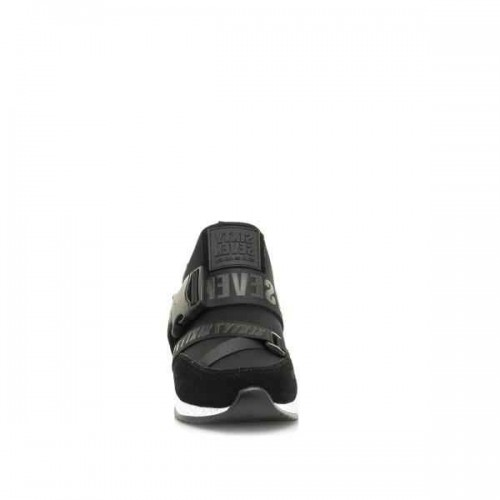 Γυναικεία Sneakers Sixtyseven 30275 Leather Suede Black Neoprene Νέες Παραλαβές