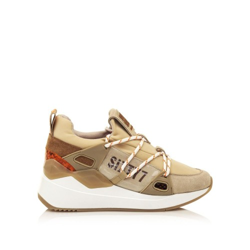 Γυναικεία Sneakers Sixtyseven 30301 Leather Suede Beige Neoprene