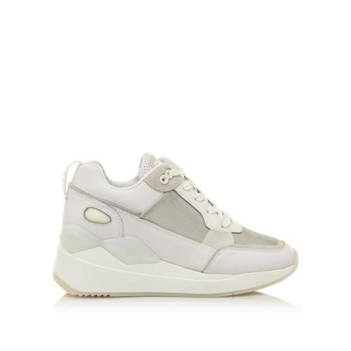 Γυναικεία Sneakers Sixtyseven 30488 Leather Actled White Varet Silver