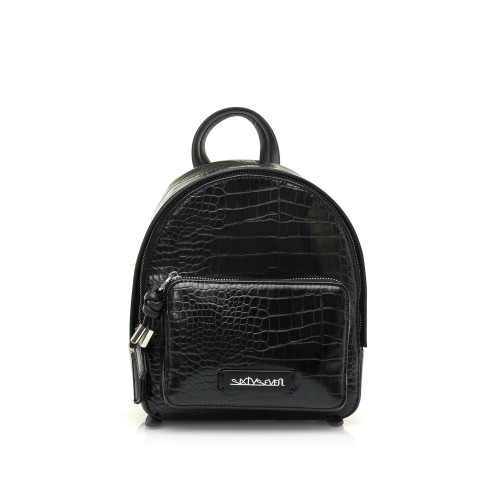 Γυναικεία Τσάντα Backpack Sixtyseven Sila Eco Leather Lyzar Black
