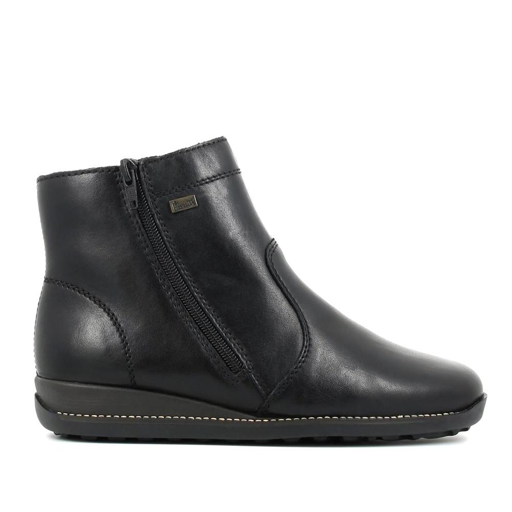 Γυναικεία Μποτάκια Rieker 98252 Leather Black Γυναικεία Παπούτσια Γυναικεία  Μποτάκια Rieker 98252 Leather Black Γυναικεία Παπούτσια 2abc3d8a7fd