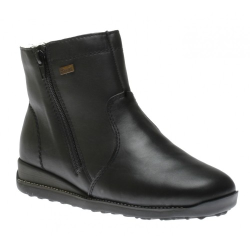 308a06a54d7 Γυναικεία Μποτάκια Rieker 98252 Leather Black