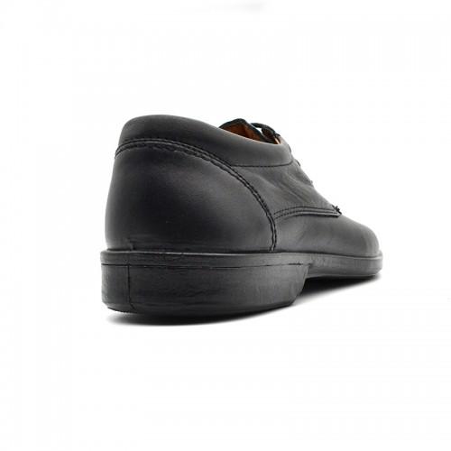 Ανδρικά Δετά Casual BOXER 10070 Leather Black
