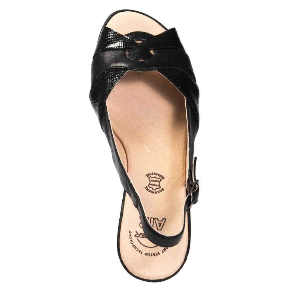 a061ff8f45 BOXER 82560 Leather Black Γυναικεία Παπούτσια BOXER 82560 Leather Black Γυναικεία  Παπούτσια ...